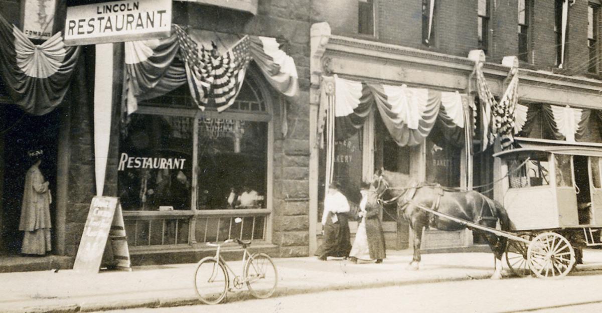 The Lincoln Restaurant 1915
