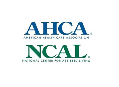 AHCA logo and NCAL logo
