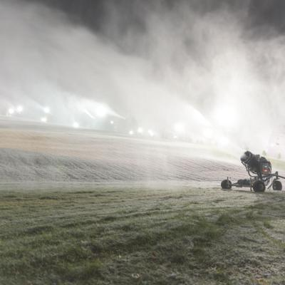 Snow Trails begins earliest snowmaking campaign in resort's history