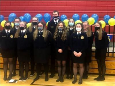 Crestview FFA banquet recognizes numerous members with a variety of awards