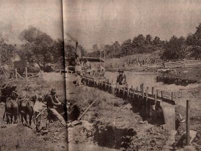 Mohican was the site of a gold rush in late 1800s