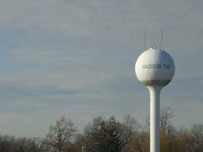 Madison Township water tower