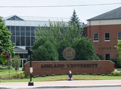 Ashland University building logo