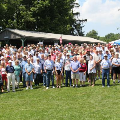 Former GM employees reunite at Marshall Park