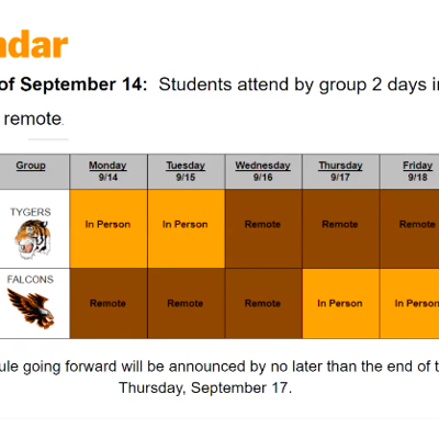 Mansfield City Schools will return to classes on a hybrid schedule