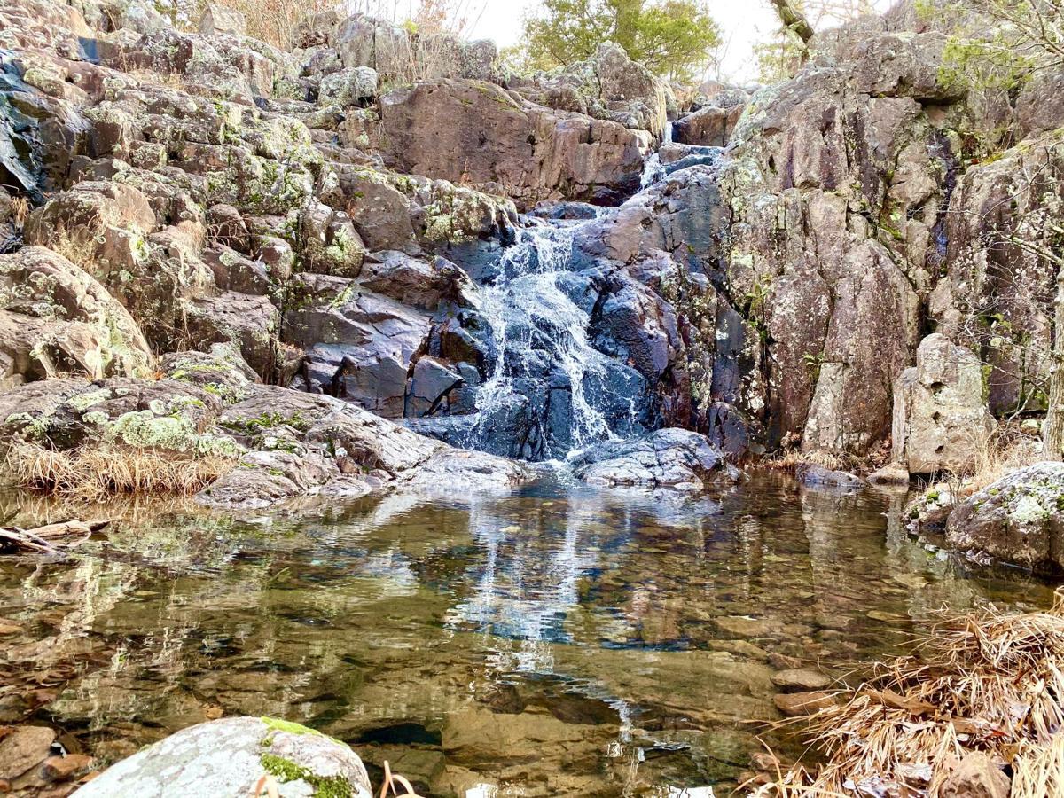 Taum Sauk waterfall