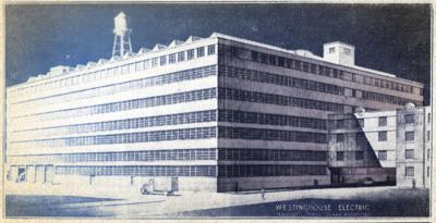 Westinghouse new warehouse in 1937