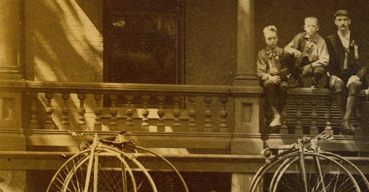 Summer 1887 at Sherman's estate