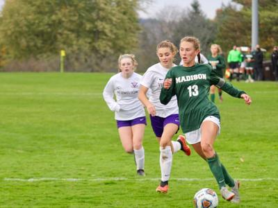 Madison's Huff ties state record for career assists as Rams rough up Vermilion