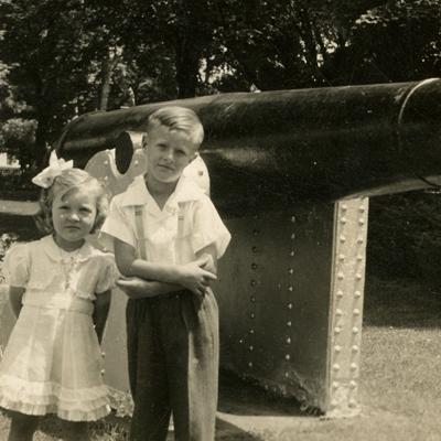 Then & Now: Mansfield's Public Cannon 1974