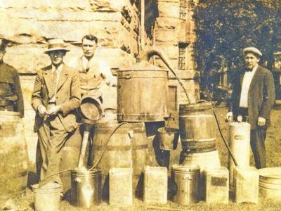 Bathtub gin bubbled in Ohio during Prohibition