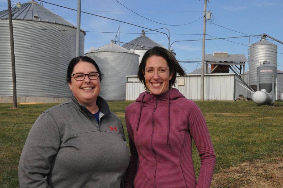 Jenifer Wine and Sarah Hulbert