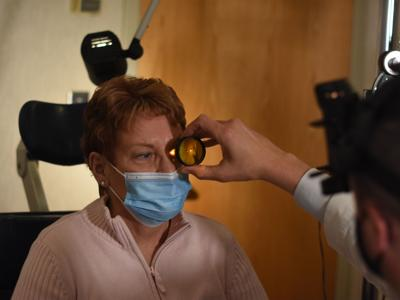 Routine exams keeps 84-year-old woman with macular degeneration from severe ramifications