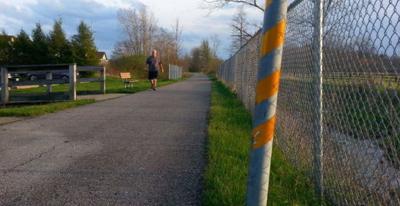 The Richland B&O bike trail