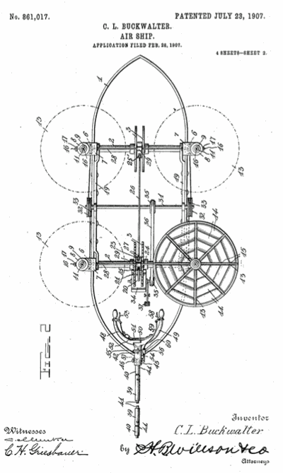 Airship patent