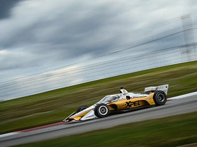 Newgarden speeds to top of IndyCar practice Friday at Mid-Ohio