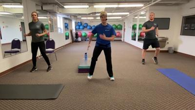 10 for 10 Challenge: Home Workout #5 with OhioHealth Fitness Trainers