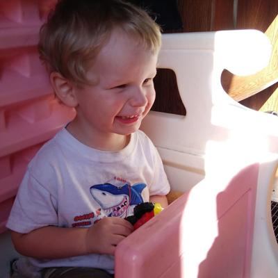 Knox County 2-year-old with COVID-19 is 'doing great,' father says