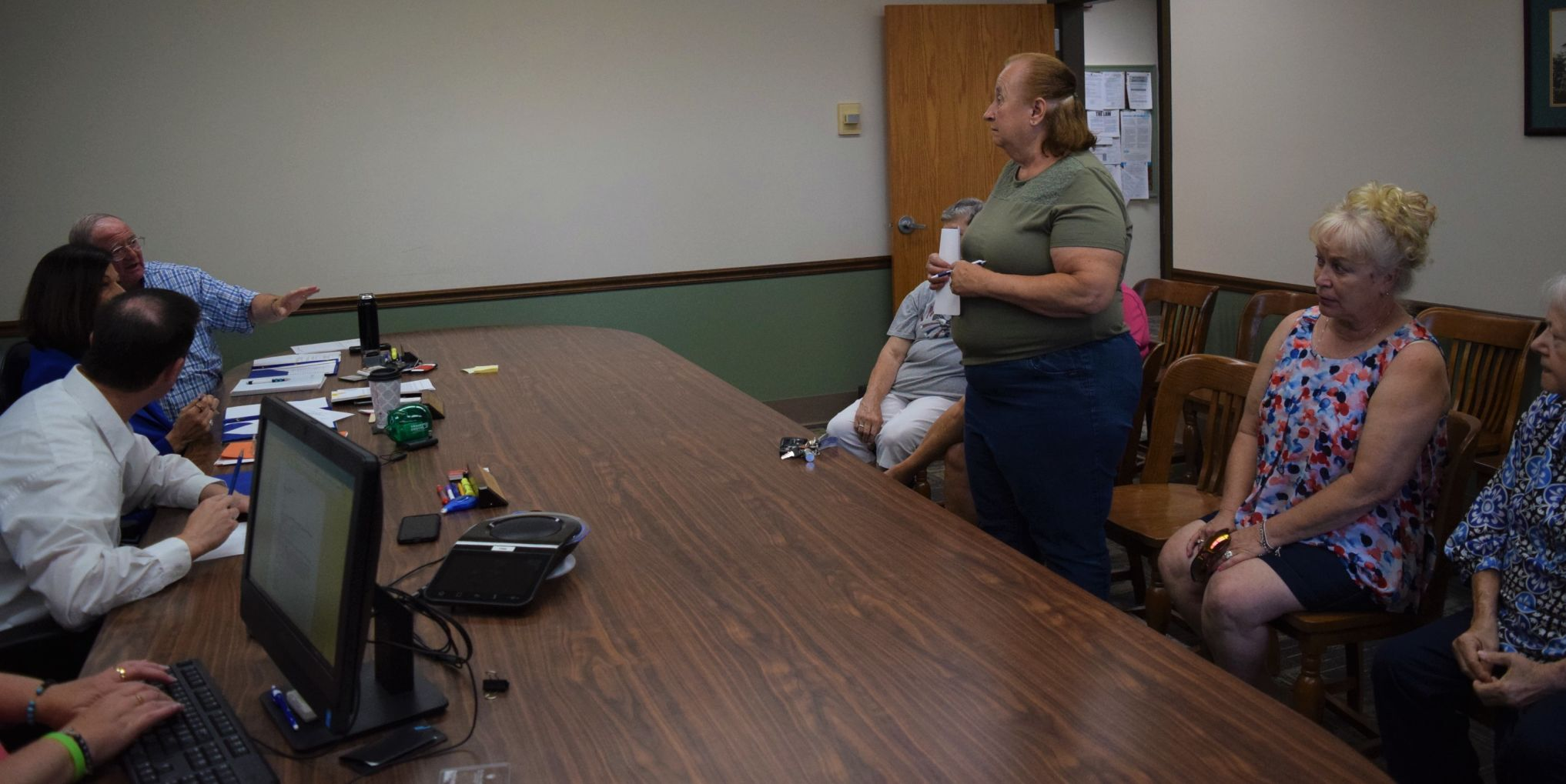 Madison Twp. residents ask commissioners for seniors' meeting space