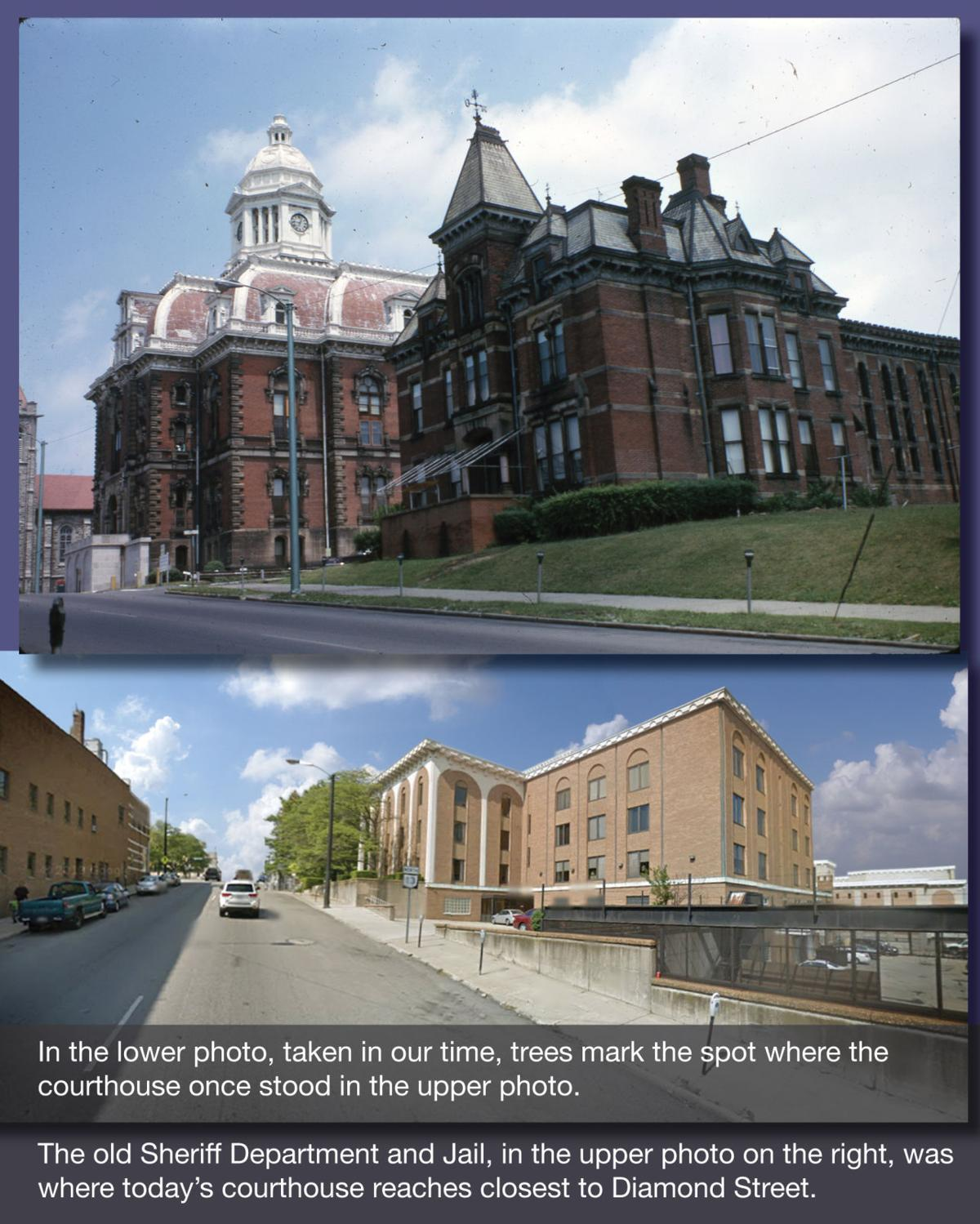 Richland County Jail then & now