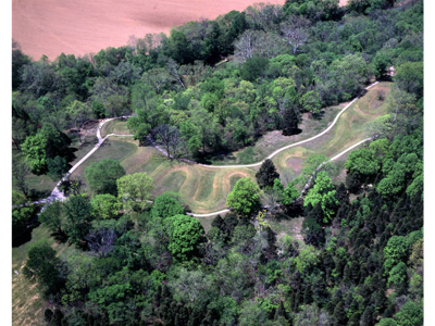 Ohio's Serpent Mound is an American Indian story written in the earth