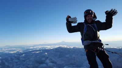 Ashland man conquers one of USA's 5 toughest peaks