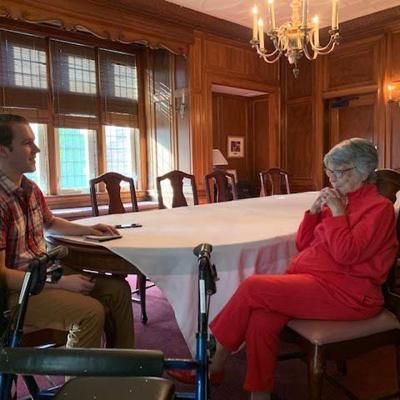 "100-year-old ""Grandma Bunny"" a living storybook of U.S. history from a Loudonville perspective"