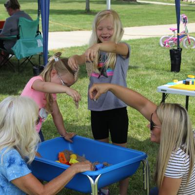 'Imagination Stations' promote play and discovery at Shelby Bicycle Days