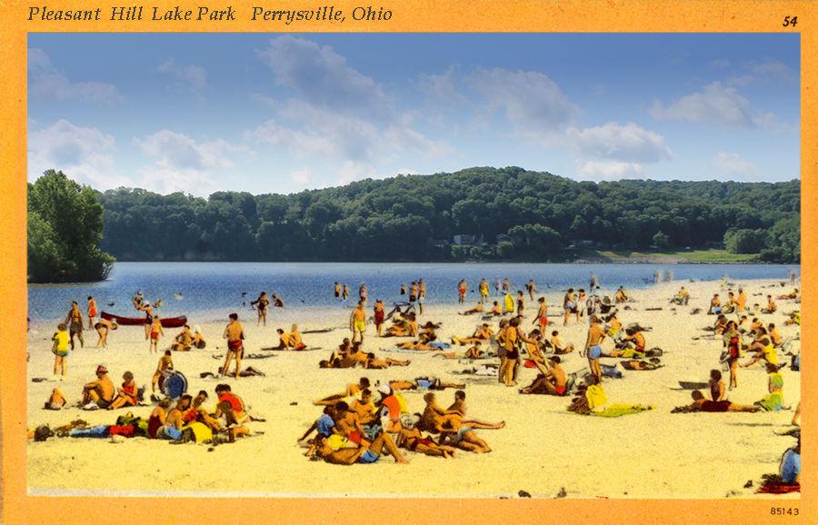 The Art Of Pleasant Hill Lake Park Area History Richlandsource Com