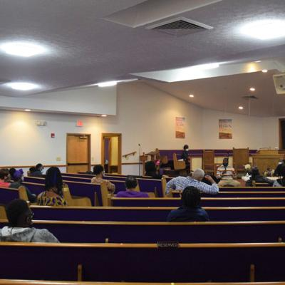 Residents discuss community/police relations during Black/Brown Coalition Town Hall meeting