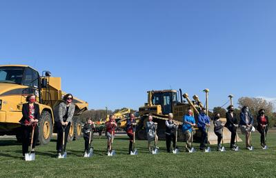 Shelby breaks ground on new building for pre-K to 8th grade students