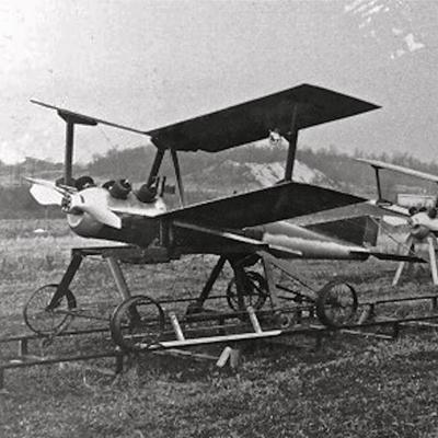 Loudonville's Kettering, aided by Wright Bros., designed 1st guided missile in 1918