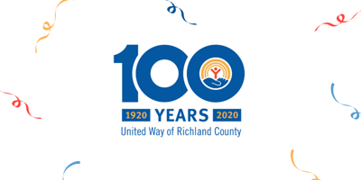 United Way of Richland County 100 year logo