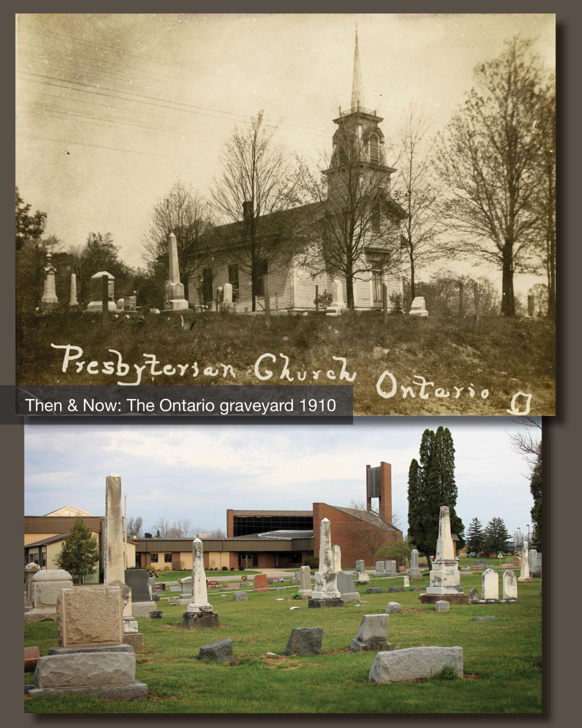 Then & Now: The Ontario Graveyard 1910