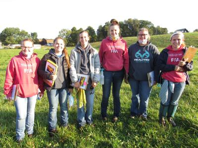 Fredericktown FFA sweeps 1st place Knox County urban soils judging competition