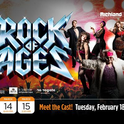 Richland Bank to host meet-and-greet with 'Rock of Ages' cast Feb. 18