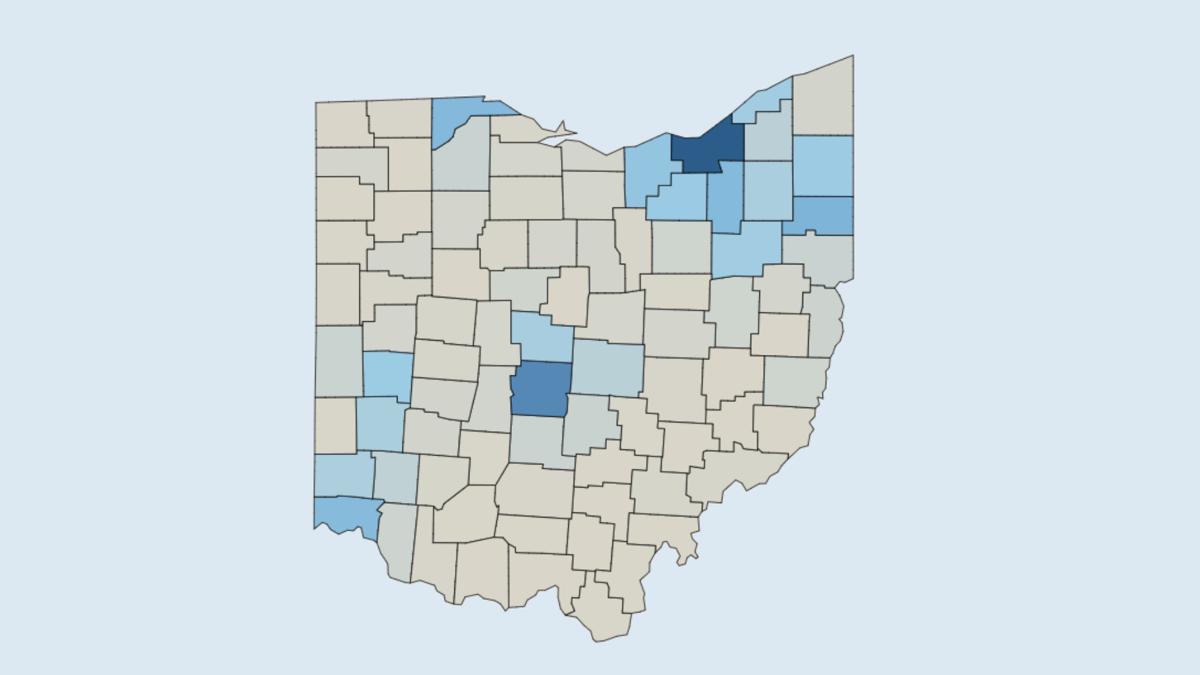 Covid 19 Tracker Daily Cases In Richland County And Across Ohio Covid 19 Richland County Updates Richlandsource Com
