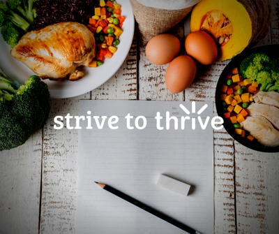 Strive to Thrive week 4: Track what you eat — how to keep a food log