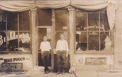 Huggins Pool Hall and Barber Shop
