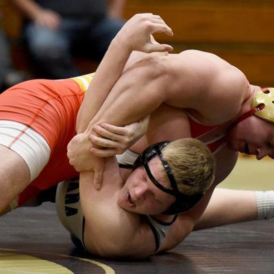 Lexington graduate takes aim at college wrestling national title