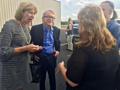DeWine talks issues at Fin Feather Fur in Ashland