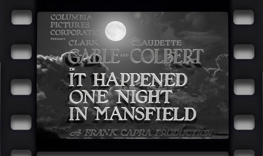 B&W: It Happened One Night in Mansfield