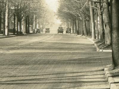 Then & Now: Park Avenue West at Marion: 1924