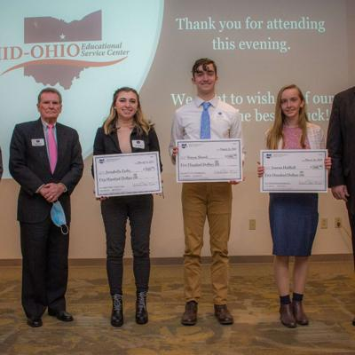 Local scholars honored at Franklin B. Walter Scholarship Award Dinner