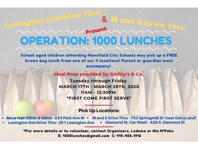 Operation 1,000 Lunches