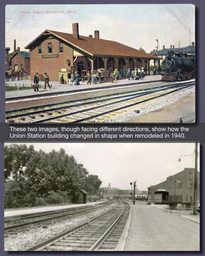Union  Station 1911 & 1970