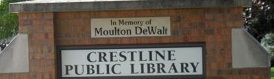 Crestline Public Library logo