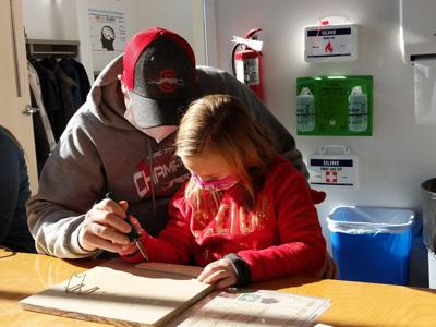 Kids dive into art & culture with Free Art Saturdays at Mansfield Art Center