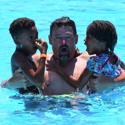 GALLERY: Beating the heat at Liberty Park pool in Mansfield