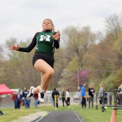 Eckenwiler, Lewis lead Madison to runner-up finish at 88th Mehock Relays